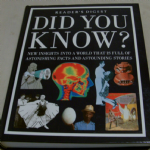 Readers Digest Did you know ? fascinating facts book